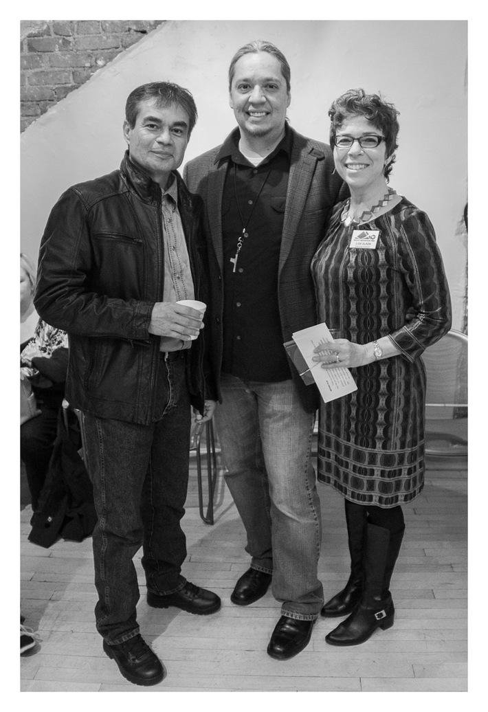 Larry Pourrier ('04), Charles Kennedye ('08), Lisa Olken ('02) get nomination