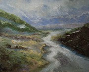 Rees Valley after Richard Robinson (study)