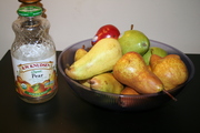My pear selection for my pear beer