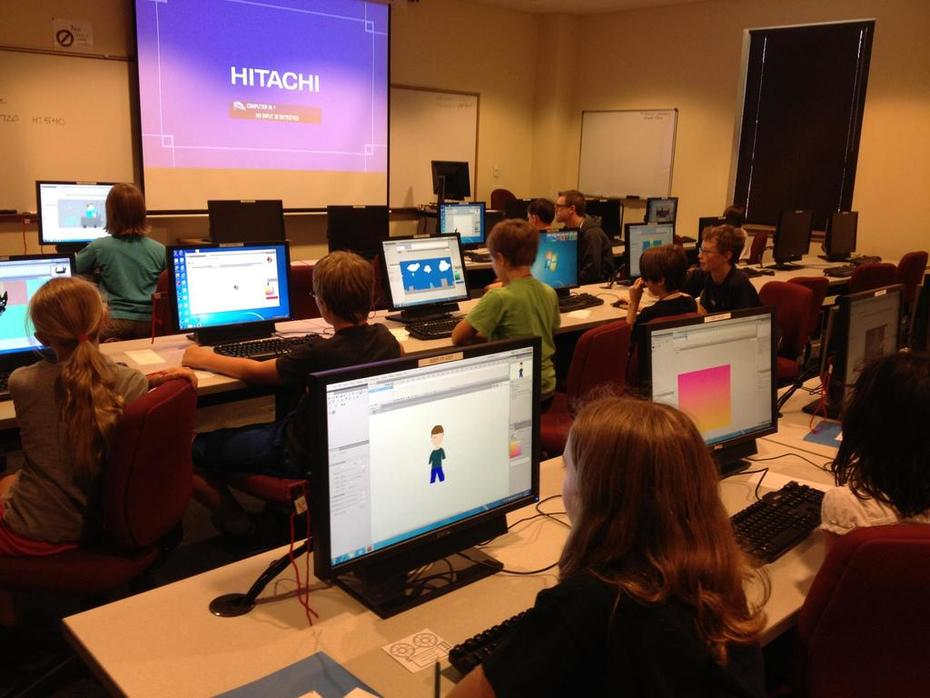 """Teaching """"Animation in a Flash"""" at Parkland Community College"""