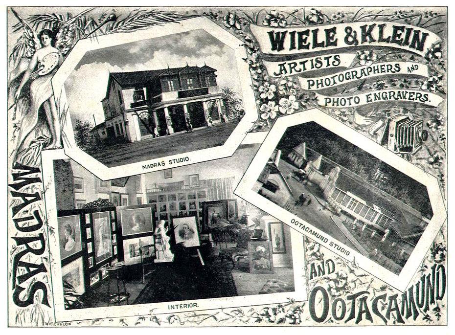 Wiele & Klein Studio Advertisement