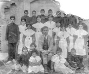 The first Armenian school in Arak (Sultanabad) Iran