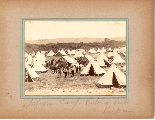 Boer war prison camp Victoria Park, Durban