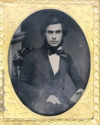 Great Western Portrait Rooms - 9th plate ambrotype of young man