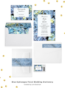 Blue Hydrangea Wedding Collection