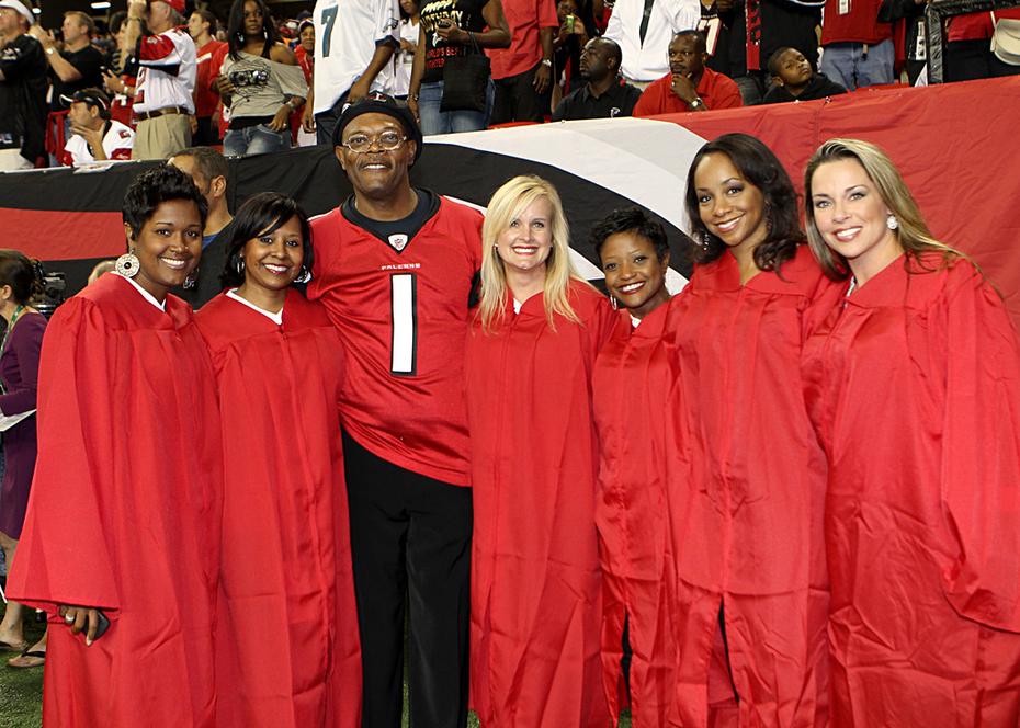 AFC Alumni Rise up with Samuel L Jackson 09.18.11