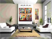 Paintings at Studio 245