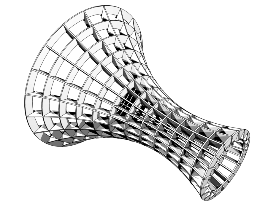 Surface of Revolution Ribs Machine
