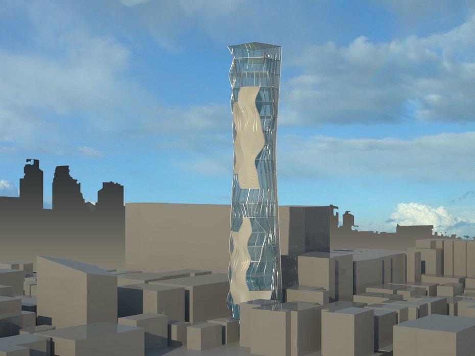 Render de la torre 2