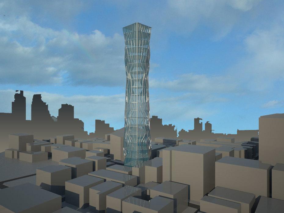 Render de la torre 3