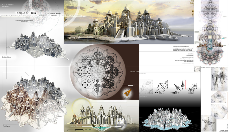 thesis panel. 2011. Temple of Iris.