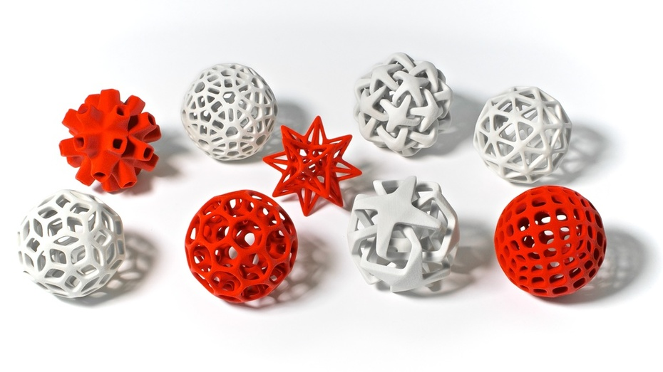 3d printed christmas tree decoration