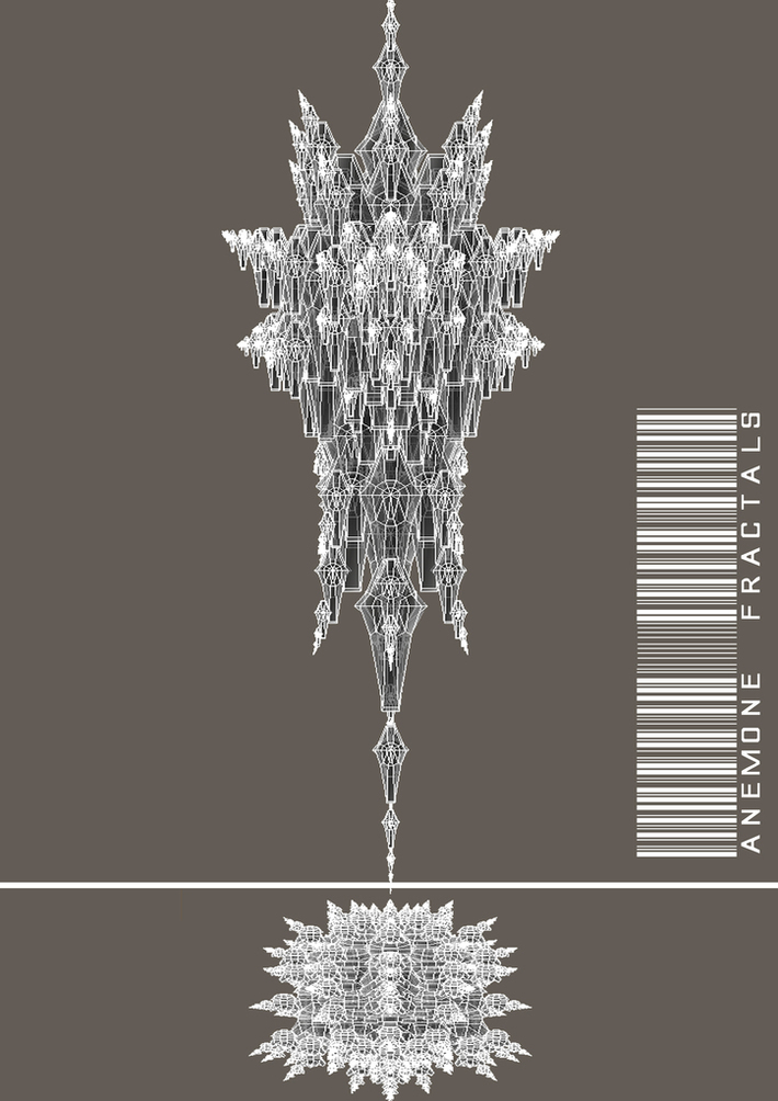 Anemone fractal mesh.