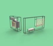 User Designed Shelving System