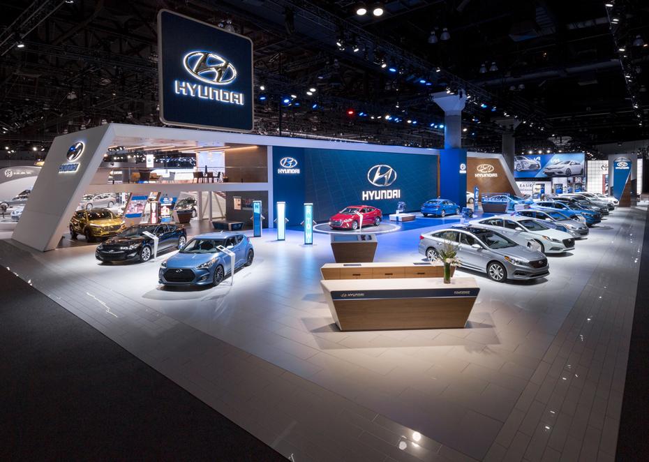 Hyundai at the 2015 Los Angeles Auto Show