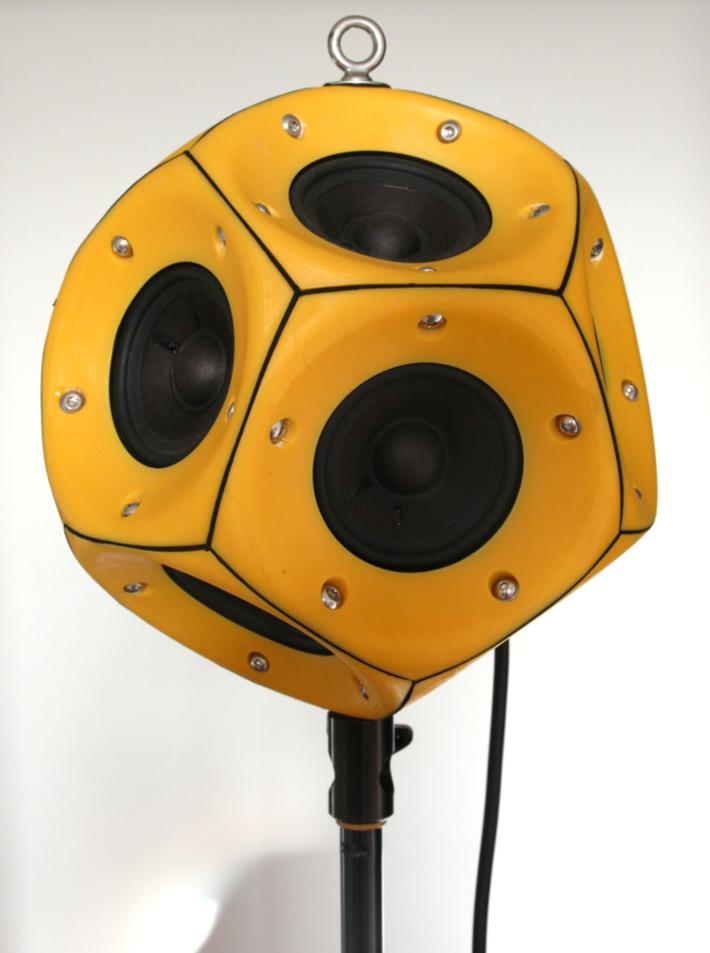 Dodecahedron Loudspeaker
