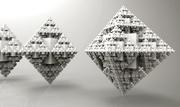 Fractal Cube02-recursive growth using Anemone