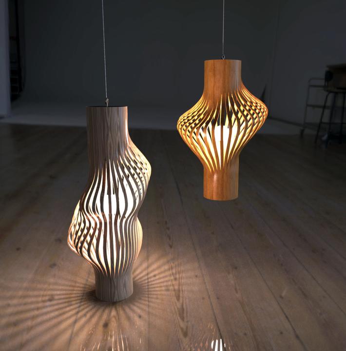 Parametric Lamp Shade-04