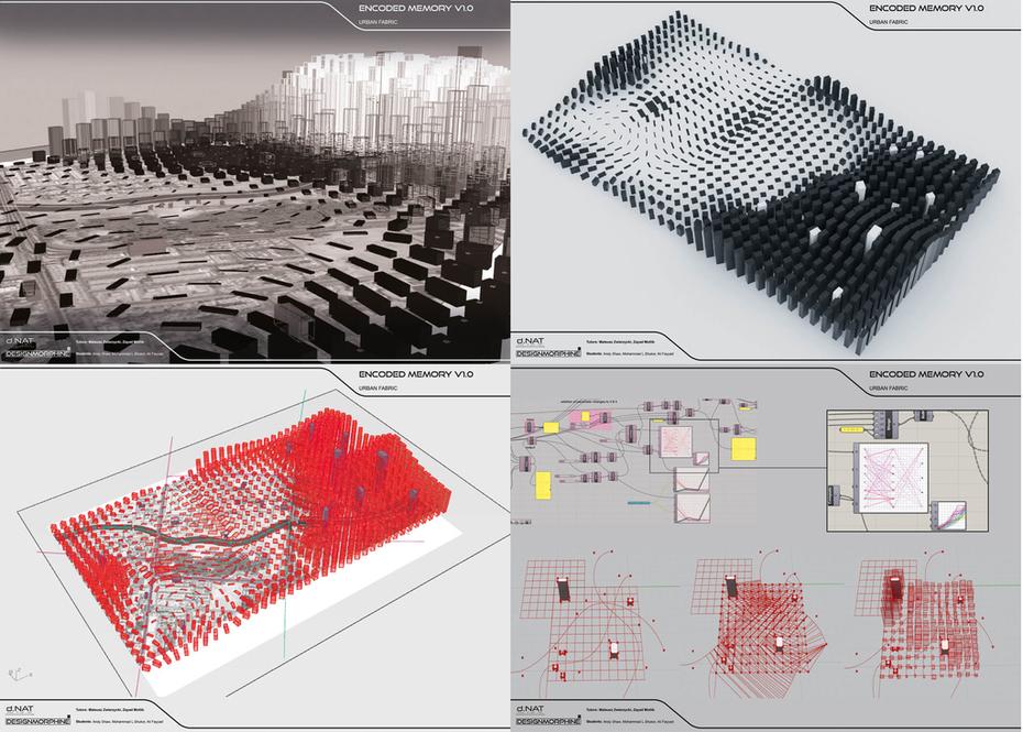 Encoded Memory V1.0 - Urban Fabric