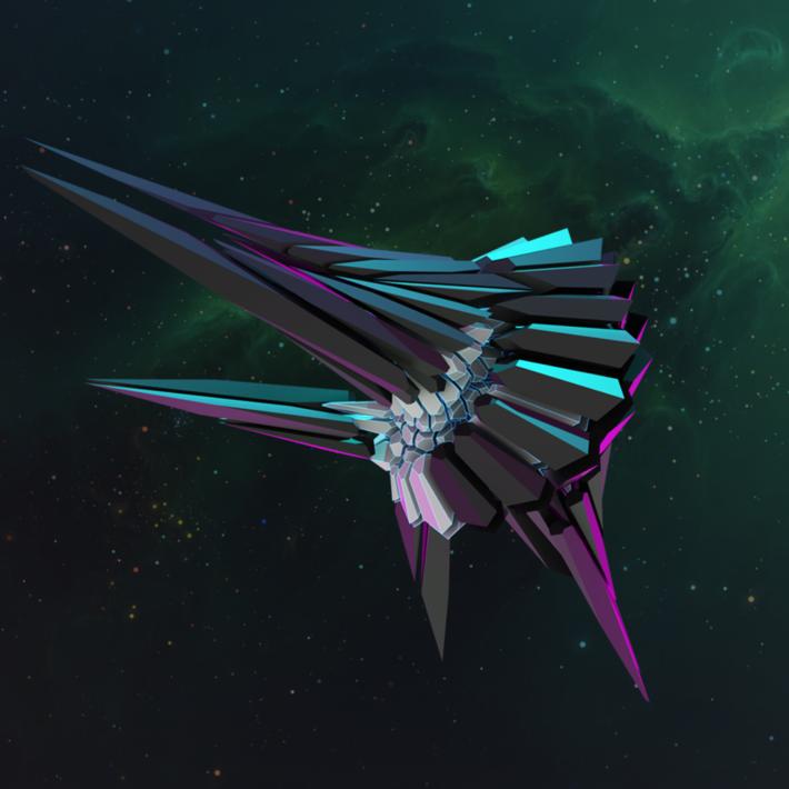 Spaceship made in grasshopper