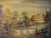 Chata nad jeziorem