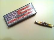 2012 Case XX Sawcut Antique Small Stockman knife