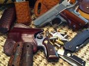 Autos - revolvers - guns & knives