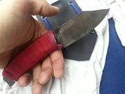 An ugly knife