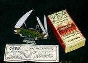 Case xx BG63055 Wharncliff Whittler Bone Stag Handles XX Blade Stamp & Packaging,Papers