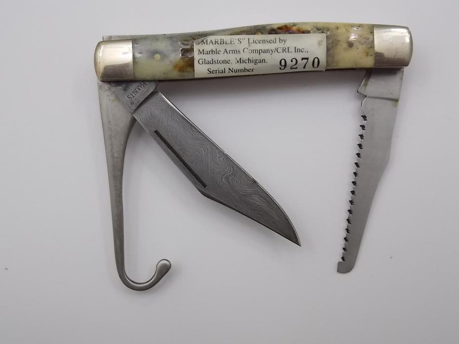Marbles Benchmade by Tak Fukuta  Hand-Made Seki Japan Bird Knife Jim Parker