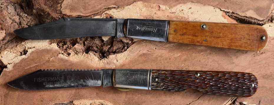 Remington and Schrade Walden Vintage Daddy Barlows