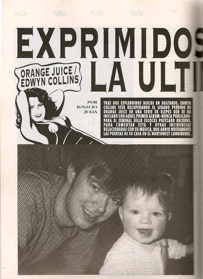 Ruta 66 - Nov 1992 - Ignacio Julia interviews Edwyn