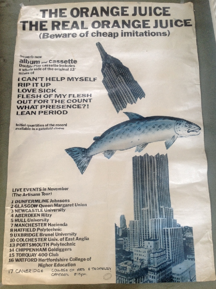 1984 tour poster
