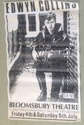 Edwyn Collins 1986 gig poster