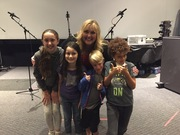 "Cassidy Benullo Recording ADR on ""Frozen"" Project"