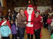 Gues as Santa, Janet Perez and Fillomena