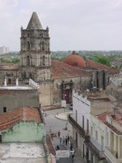 Aerial view of Camagüey, Cuba.