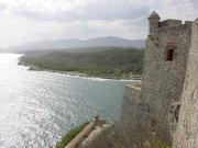 Morro fortress in Santiago de Cuba.