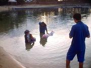 Singapore dolphin park