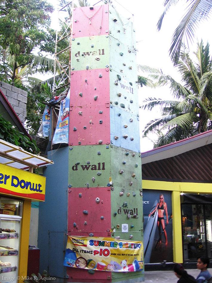 D'Wall at D'Mall, Boracay