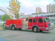 BX-13 en un incendio en la Comuna de Independencia