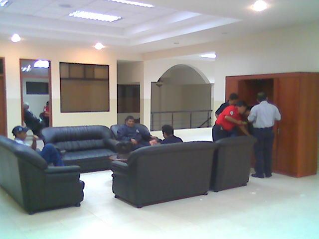 Sala de estar cuartel 4
