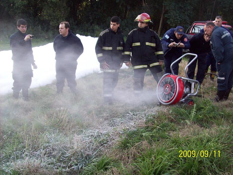 Jornada sobre ventilacion en B.V. Gral Rodriguez / Foto Destacada de La Hermandad de Bomberos