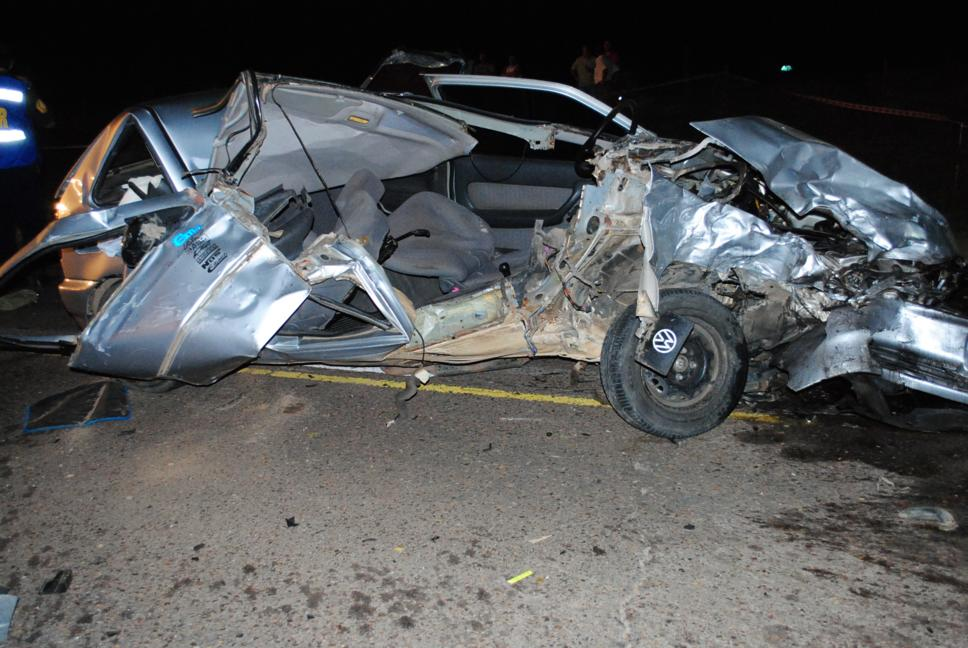 accidente ruta 130-km 19 - Gol