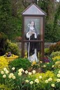 St. Brigid in the Holy Telephone booth, Ireland