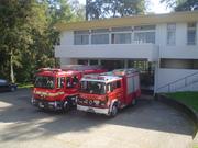 Camiones de Bomberos de la Séptima Compañía de Bomberos de Valdivia - Chile.