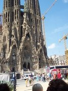 The old Barcelona Catherdal