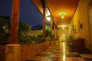 Garden Corridor at Hotel Modelo