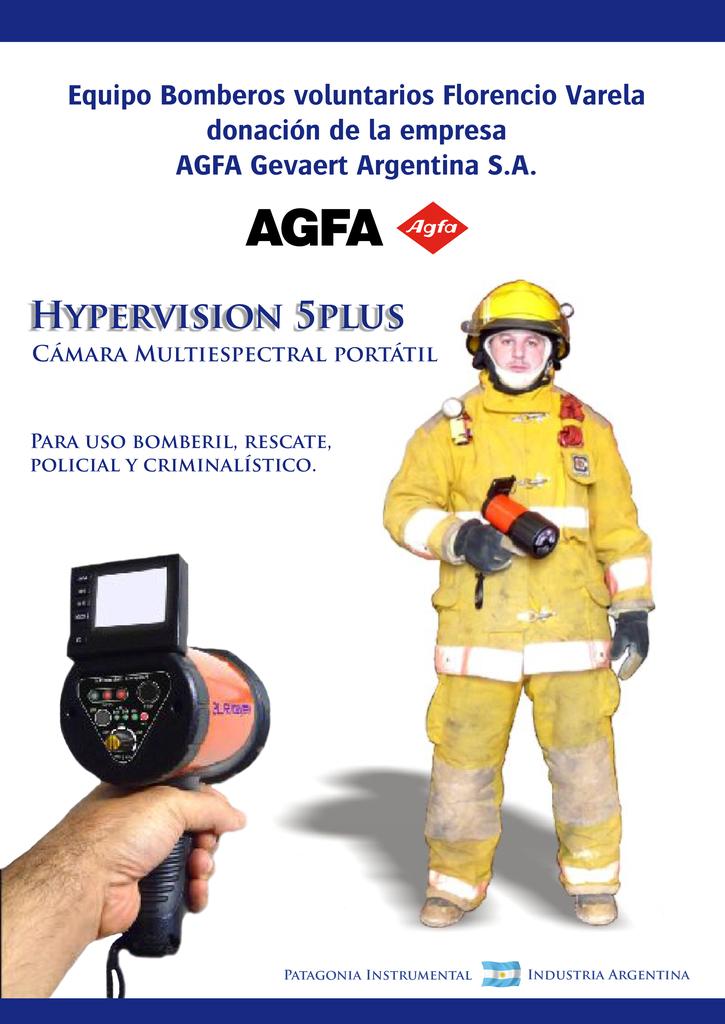 PRIMER ENCUENTRO DE LA HERMANDAD DE BOMBEROS / EQUIPO DE RESCATE DE ULTIMA TECNOLOGIA / Hypervision