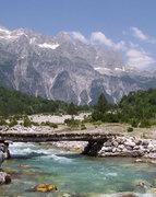 Albanian Alps, Valboa Valley